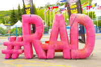 Color Me RAD 5K, Calgary-2014